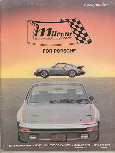 Amazon.com: 1965-1981 Porsche Mitcom 911 912 914 930 Turbo Parts Access Brochure: Entertainment Collectibles