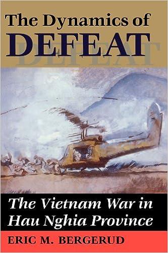 Amazon The Dynamics Of Defeat The Vietnam War In Hau Nghia