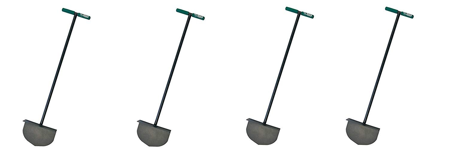 Bully Tools 92251 Round Lawn Edger with Steel T-Style Handle (Pack of 4)
