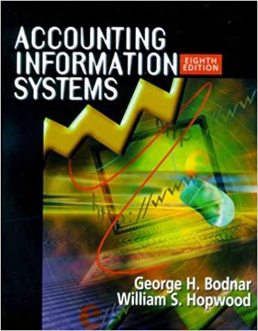 Accounting Information Systems 8th Edition George H