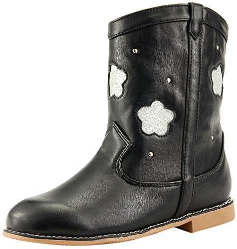 The Doll Maker Flower Cut-Out Short Boots
