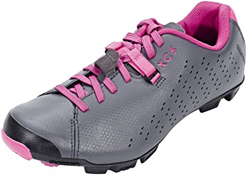 2019 Chaussures XC5 Shimano Gris Rose VTT SH Chaussures Femme ZannxqUY