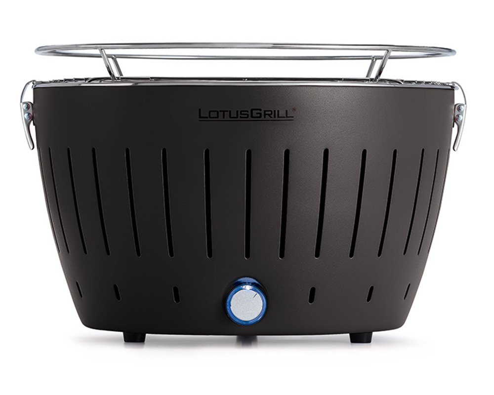 Reimo_Consignment LotusGrill Standard Charcoal Barbecue with Fan Grill - Anthracite Grey G-AN-34N