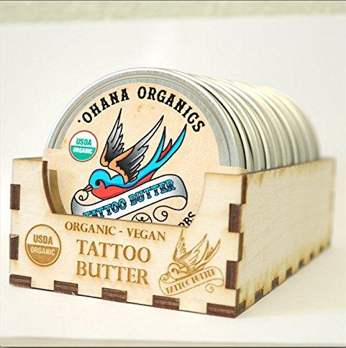 Ohana Organics - Certified Organic, Vegan Tattoo Butter (2 oz) (Ohana Organics)