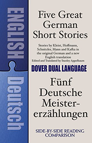 Five Great German Short Stories: A Dual-Language Book (Dover Dual Language German) by Dover Publications