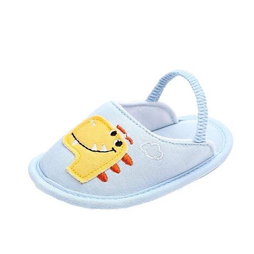 Miyanuby Scarpine Prima Infanzia Scarpine Neonato Neonata Scarpe per  Bambine Bambino Cartone Animato Scivolare su Suola 769a30f43b0