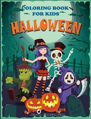 Halloween Coloring Book Kids Including product image
