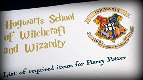 Harry Potter School Acceptance Letter Gift Pack Personalized with Any Name and Address by planetsforsale (Image #3)