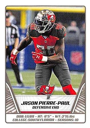 finest selection 62ad3 ab4c6 Amazon.com: 2019 NFL Stickers Collection #476 Jason Pierre ...