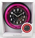 Electric Sterling & Noble Neon Wall Clock