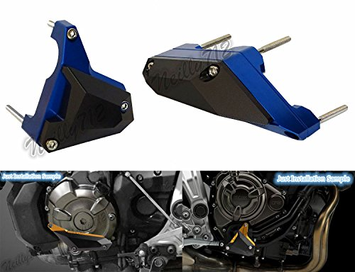 waase MT-07 FZ-07 Motorcycle Left & Right Engine Case Cover