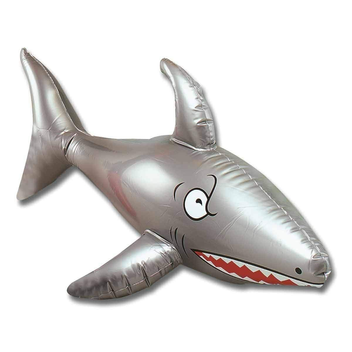 Tiburón inflable 90 cm Pirata playa fiesta Prop Sea Jaws Hawaiin ...