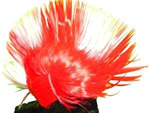 WeGlow International Red And White Mohawk Wig (Pack Of 2)