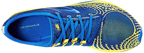 888098162721 - New Balance Men's MR00 Minimus Road Running Shoe,Blue/Yellow,11.5 D US carousel main 7