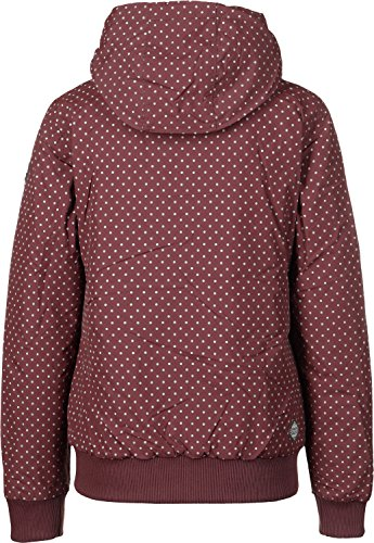 Donna Ragwear Giacca Rosso Giacche Nuggie invernale r4wd4qF