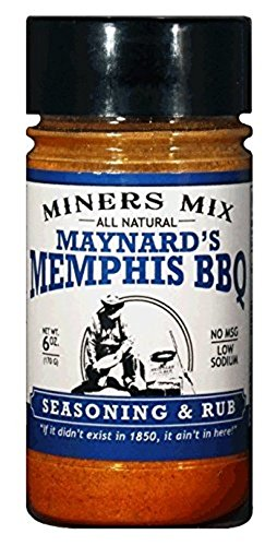 Memphis BBQ Seasoning Rub for Ribs, Pork Butt and Pulled Pork. No Sauce Needed