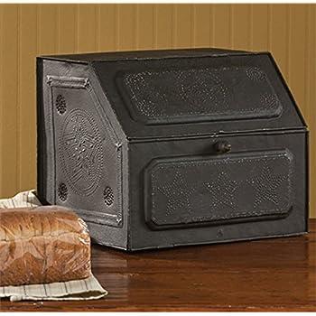 Antique Replica of Tin Bread Box/desk Storage 21-190