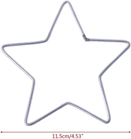 in macram/è yuaierchen Anelli circolari Acchiappasogni a Forma di Stella Realizzati a Mano