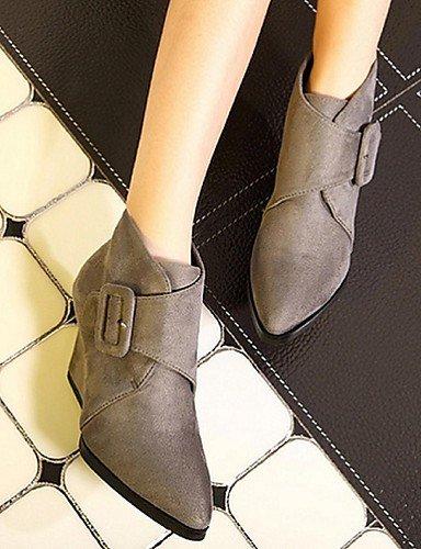 botas Exterior Black Oklop La Gray zapatos Moda us8 Puntiagudos us8 Xzz Tacón De cn39 Cuña uk6 gris us8 casual A eu39 eu39 cn39 uk6 Botas Cn39 Uk6 Eu39 Negro Mujer Cachemira Gray xw7W0pwrBq