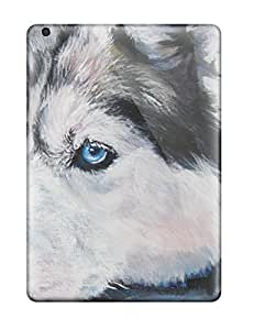 Premium ZqDQava3516mPOAG Case With Scratch-resistant/ Siberian Husky Dog Case Cover For Ipad Air