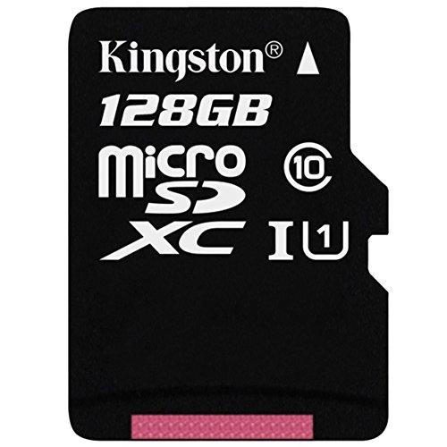 2834 opinioni per Kingston Scheda MicroSDHC/SDXC Classe 10 UHS-I, 128 GB, Velocità Minima di 10
