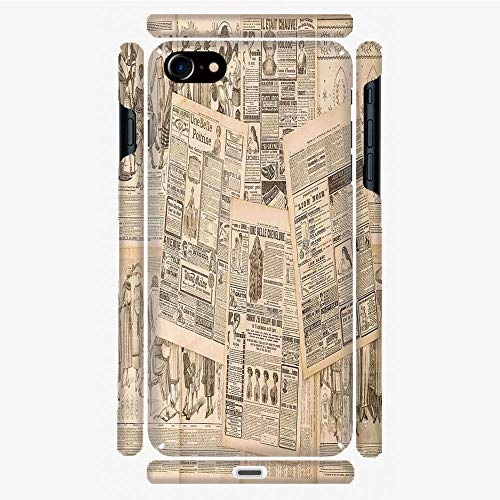 - Phone Case Compatible with 3D Printed iPhone 7/iPhone 8 DIY Fashion Picture,Advertising and Fashion Magazine for Woman,Personalized Designed Hard Plastic Cell Phone Back Cover Shell Protective