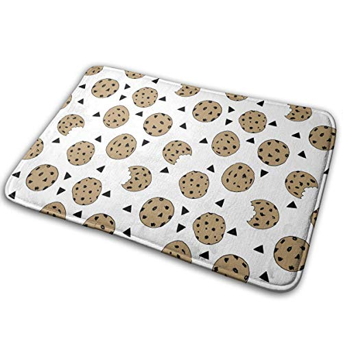 FMFCCAR Cookies Food Chocolate Outdoor Indoor Mat Room Rug Carpet 15.7