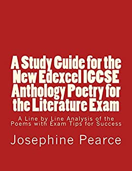 a study guide for the new edexcel igcse anthology poetry for the literature exam a. Black Bedroom Furniture Sets. Home Design Ideas