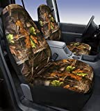 93 bronco camo seat covers - Saddleman Front Bucket Custom Fit Seat Cover - Neoprene (Camouflage)