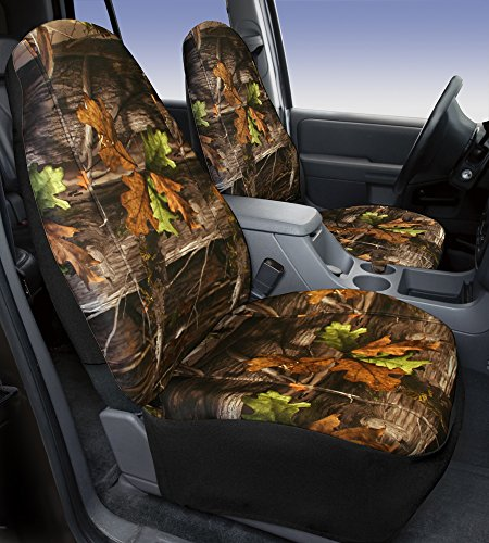 Saddleman Front Bucket Custom Fit Seat Cover - Neoprene (Camouflage) (91 Ford Bronco Camo Bucket Seats compare prices)