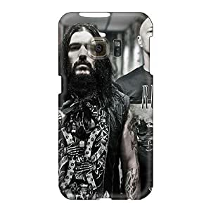 LauraAdamicska Samsung Galaxy S6 Bumper Hard Phone Case Custom Stylish Ensiferum Band Series [HPB6073UiWm]