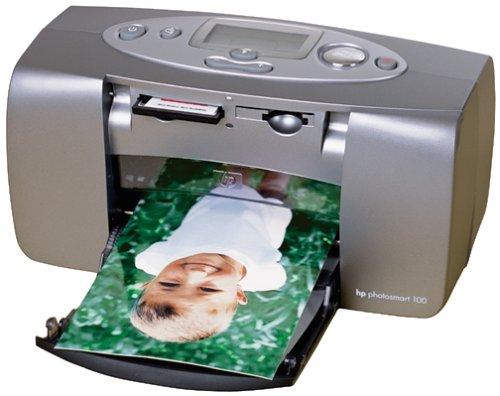 HP PhotoSmart 100 Portable Inkjet Printer by HP