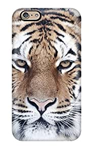 High Quality Shock Absorbing Case For Iphone 6-tiger Close Up