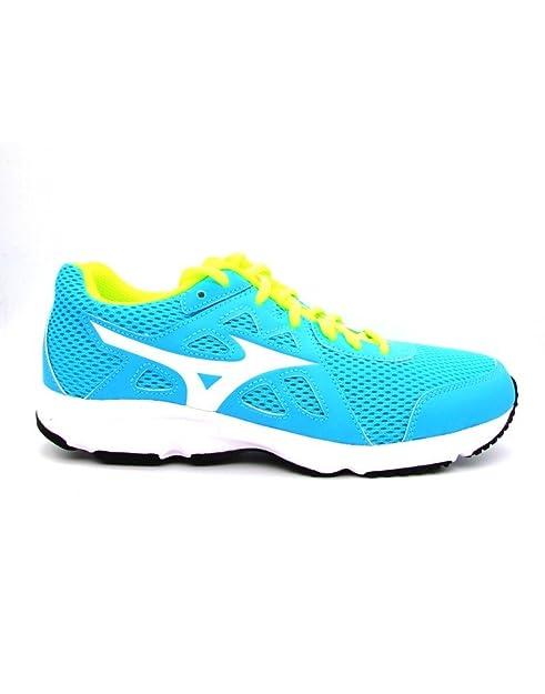 Mizuno - Zapatillas de Running para Hombre Azul Azul Celeste: Amazon.es: Zapatos y complementos