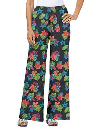 - AmeriMark Cotton Gauze Pants Plus Size