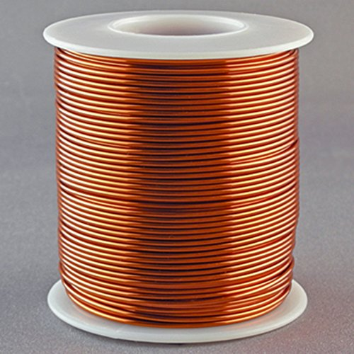 Magnet Wire 16 Gauge AWG Enameled Copper 126 Feet Coil Winding and Crafts 200C