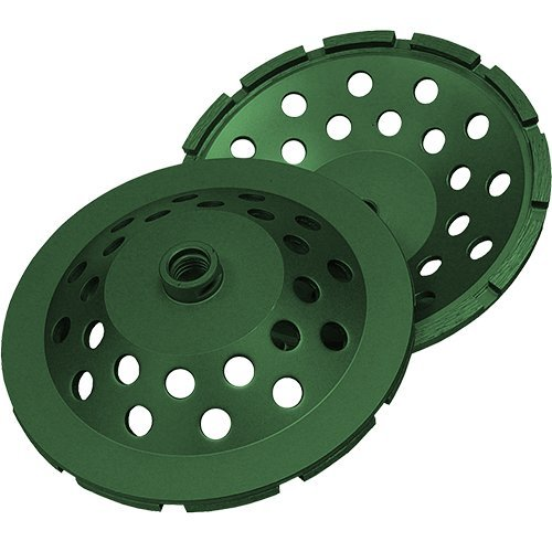 Diamond Products Core Cut 94177 4-Inch Single Row Utility Green Segmented Cup Grinder Builders World Wholesale Distribution