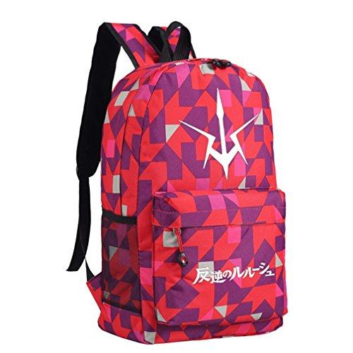 [YOYOSHome Code Geass Anime C.C. Cosplay Bookbag Rucksack Backpack School Bag] (Cc Code Geass Costumes)