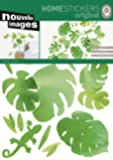 Home Stickers HOST 232 Philodendron Decorative Wall Stickers