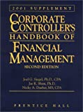 Corporate Controller's Handbook of Financial Management Supplement, Joel G. Siegel, 0130899526