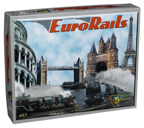 Mayfair Games 4099012 Eurorails product image