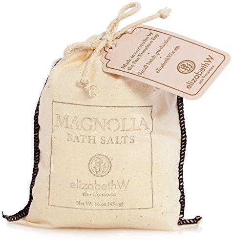 Elizabeth W Bath Pouch - elizabethW Magnolia Bath Salts in Bag
