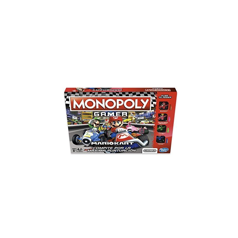 Hasbro Gaming Juego De Mesa Monopoly Mario Kart Www