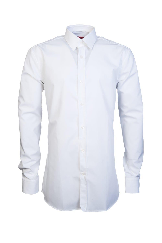 Hugo Men's Extra Slim Fit Elisha01 Shirt White US 15.5