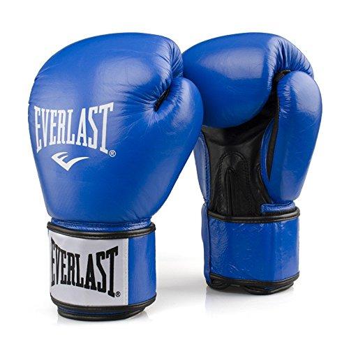 Everlast Erwachsene Boxartikel 1803 Boxing Gloves Rodney, Blue/BlacK, 12, 057205 52020