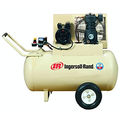 <strong></noscript>Ingersoll-Rand SS3F2-GM Garage Mate 15 Amp 2 Horsepower 30 Gallon Oiled Wheeled Single Hot Dog Compressor</strong>
