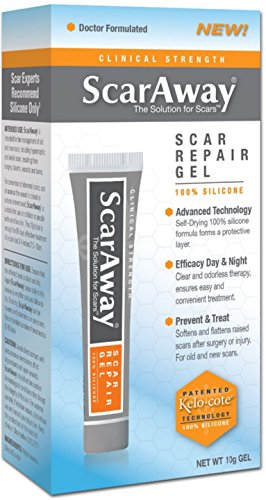 Scaraway Scar Repair Gel With Patented Kelo-Cote Technolo...