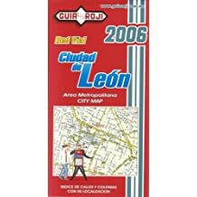 Leon City Map (Spanish Edition) Guia Roji