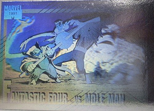 2 Chase Card (1991 Marvel Universe Series 2 Fantastic Four Vs Mole Man Hologram Chase Card #H-5)