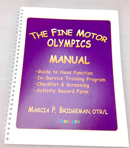 Therapro The Fine Motor Olympics Manual